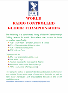 World Championship Gliding
